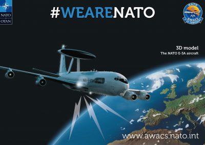 NATO AWACS E-3A