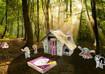 Hansel and Gretel Bookshelf