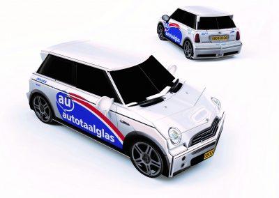 Autotaalglas mini-Mini
